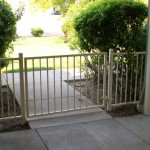 88 ornamental railing with gate
