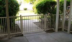 88 ornamental railing with gate