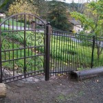 84 custom ornamental walk gate and fence