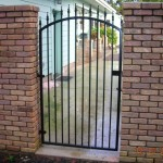 81 Ornamental Iron walk gate
