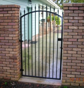 81 Ornamental Iron walk gate