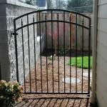 105 ornamental iron walk gate