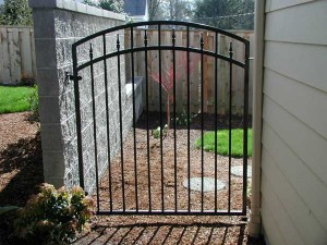 105 ornamental iron walk gate