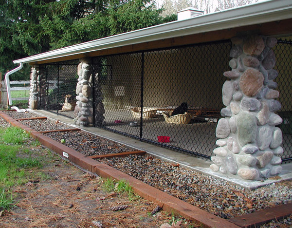 Dog Kennel Salem Corvallis Mcminnville Outdoor Fence