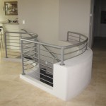 61 Interior ornamental iron railing