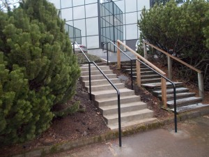 56 Before & After Ornamental Iron Handrail
