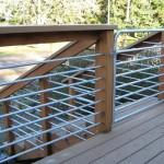 48 Ornamental Iron Railing/Wood Application