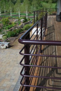 46 Custom Ornamental Iron Railing, Salem, Oregon