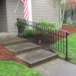 43 Ornamental Iron Handrail, Dallas, Oregon