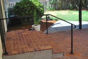 40 Ornamental Iron Handrail, Salem, Oregon