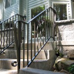 39 Ornamental Iron Handrail, detail Salem, Oregon