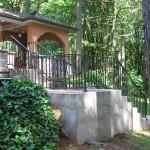 38 Ornamental Iron Handrail, Salem, Oregon