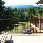 36 Two applications of Custom Ornamental Iron Railings, Dallas, Oregon (1410067)