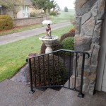 35 Ornamental Iron Handrail, Keizer, Oregon