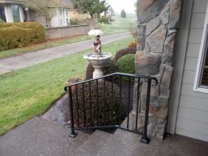 35 Ornamental Iron Handrail, Keizer, Oregon