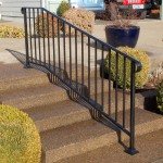 34 Ornamental Iron Handrail, Monmouth, Oregon
