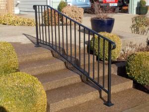 34 Ornamental Iron Handrail, Monmouth, Oregon