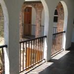 33 Ornamental Iron Raililng between columns, Salem, Oregon