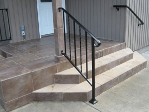 31 Use of two handrail types, Salem, Oregon