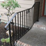 30 Ornamental Iron handrail, detail