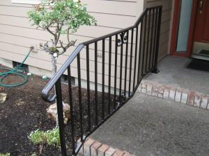 30 Ornamental Iron handrail, detail