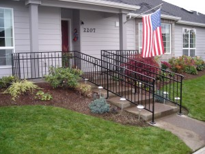 24 Ornamental Iron Railing