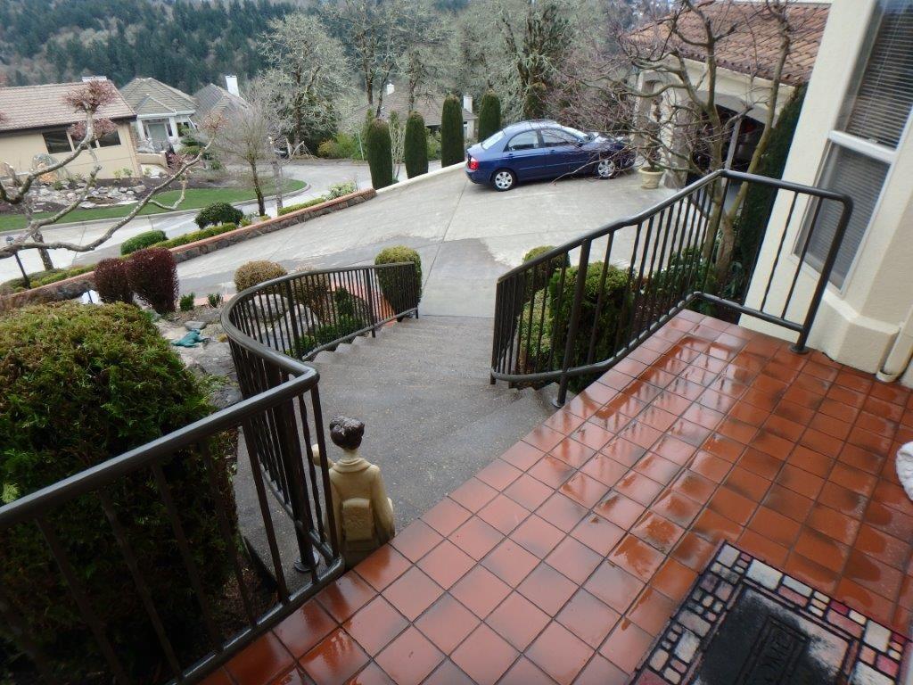Elegant Residential Railing In Salem Oregon Outdoor Fence