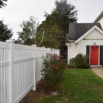 Residential Vinyl Fence Oregon