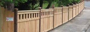 6 Custom Wood Fence Salem