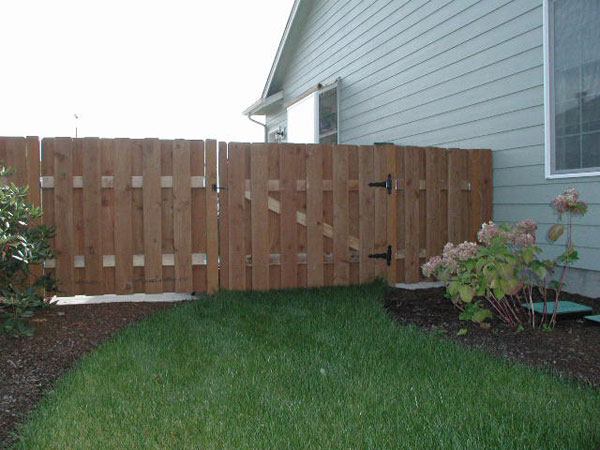 aumsville wood fence