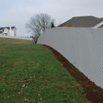 368- pre-slatted chain link-residential