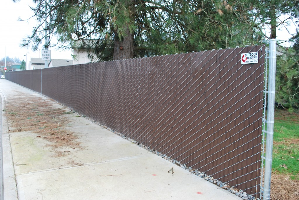 Residential Chain Link Fence Salem Mcminnville Corvallis