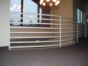 360-interior ornamental iron railing-commercial