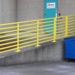 361-iron safety railing, commercial, Salem, Oregon