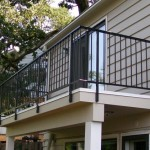 336-ornamental iron railing-residential-deck