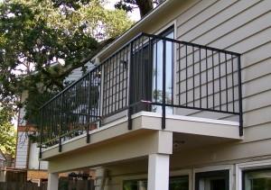 336-ornamental iron railing-residential-deck