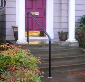 332-ornamental iron handrail