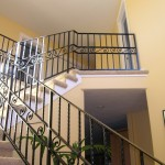 350-custom ornamental iron interior residential railing